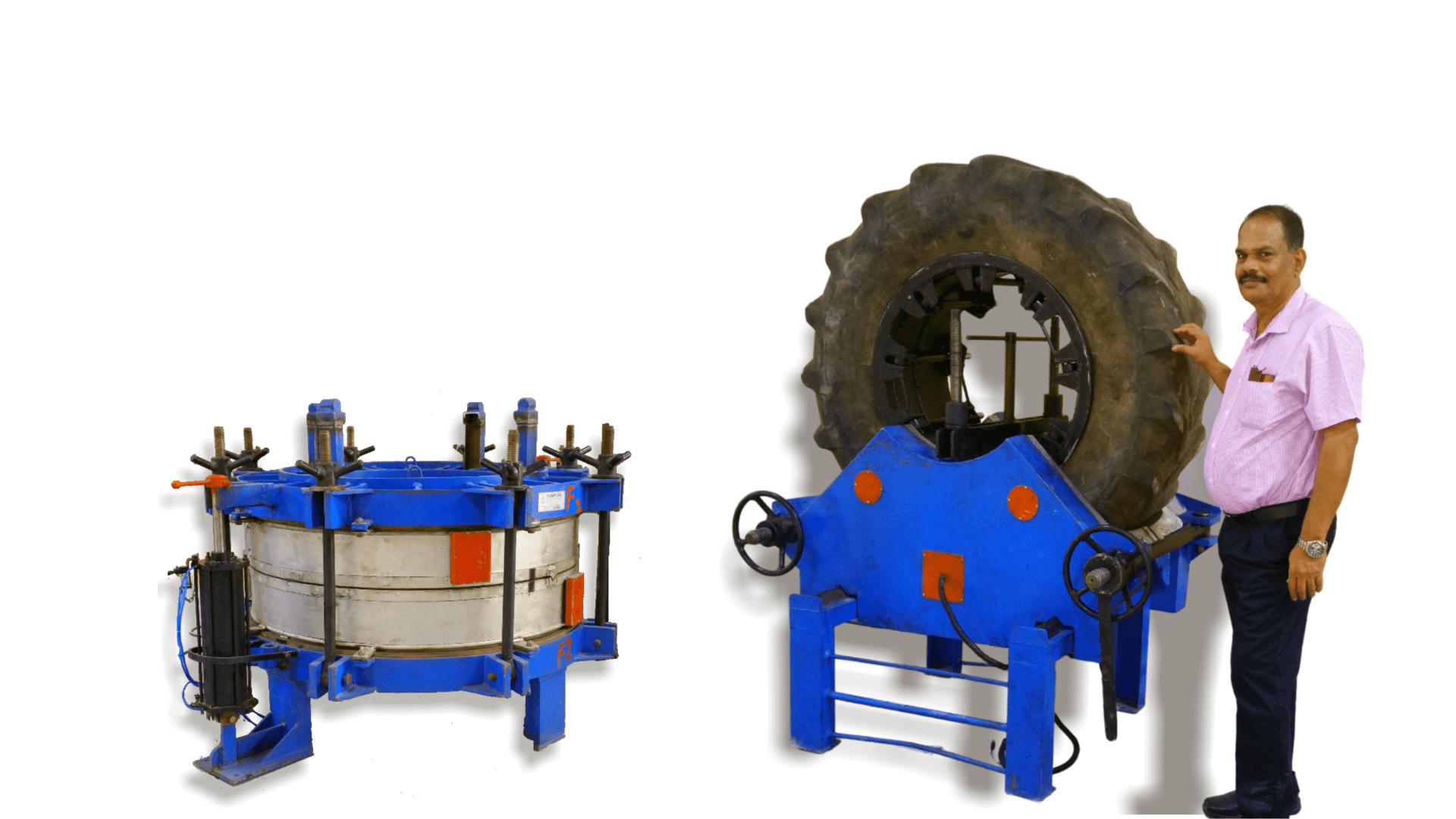 THOMPSON'S – ELECTRIC TYRE RETREADING MACHINE